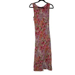 Reversible floral patterned mermaid dress